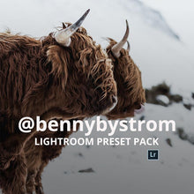 Load image into Gallery viewer, AOV x @Bennybystrom  Lightroom Presets