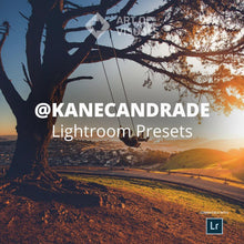 Load image into Gallery viewer, AOV x @kanecandrade Lightroom Presets