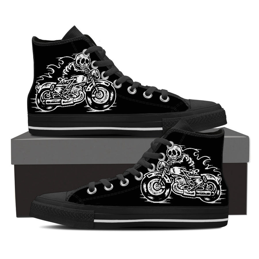 Biker Kicks - Mens High Tops - Ink and Iron co.