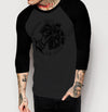 Bringing Home The Bacon - Mens 3/4 Sleeve Raglan Shirt - Ink and Iron co.