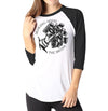 Bringing Home The Bacon - Ladies 3/4 Sleeve Raglan Shirt - Ink and Iron co.