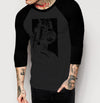 Front End - Mens 3/4 Sleeve Raglan Shirt - Ink and Iron co.