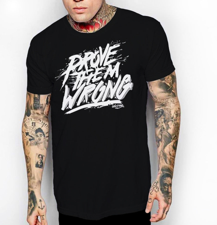 Prove Them Wrong - Front Print Mens Jersey T-Shirt