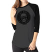 My Way - Ladies 3/4 Sleeve Raglan Shirt - Ink and Iron co.