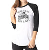 Ride Fast - Ladies 3/4 Sleeve Raglan Shirt - Ink and Iron co.