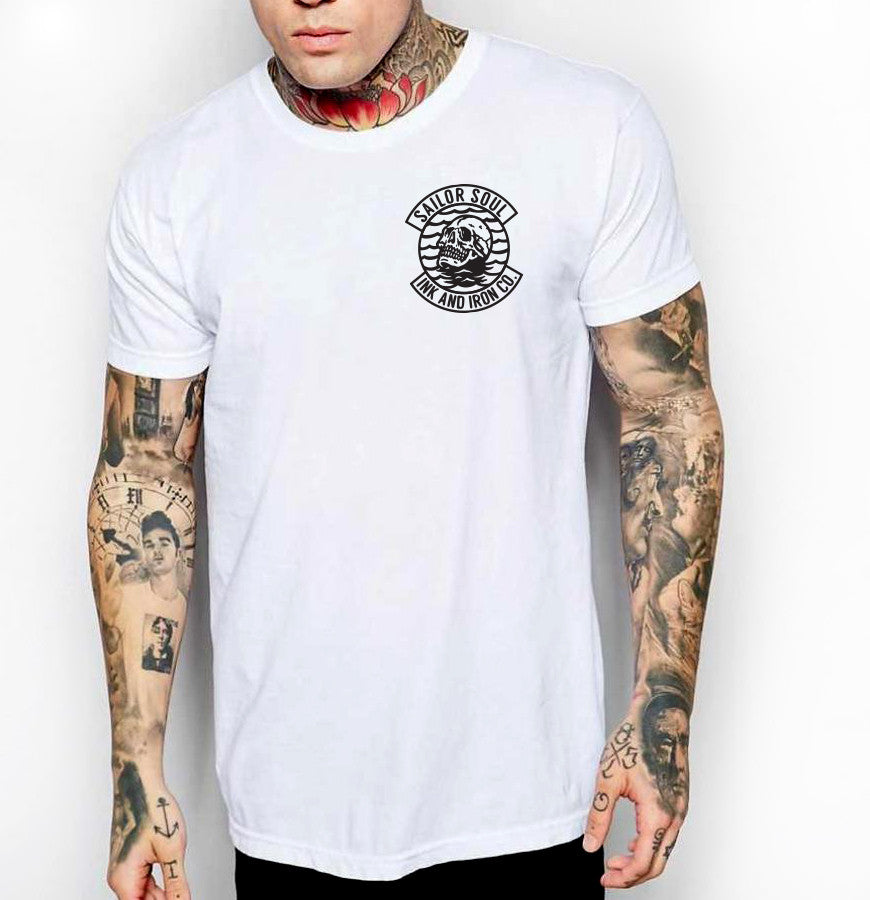 Sailor Soul - Mens Jersey T-Shirt - Ink and Iron co.