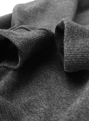 Crew Basic Heavyweight Fleece Sweatshirt - Dark Grey - Muscle Fit Basics  - 4