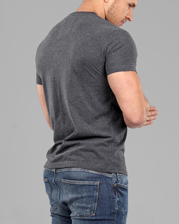 2645036b Men's Muscle Fit Plain T-Shirt Collection - Muscle Fit Basics