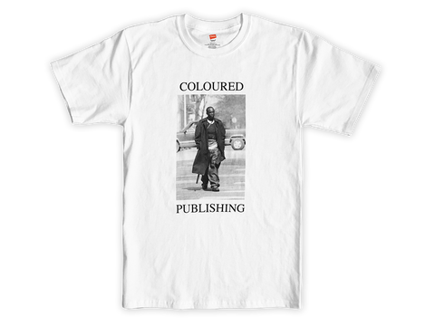 "Coloured Publishing Icon ""OMAR"" Tee"
