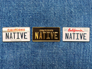california_native_license_plate_pin_set