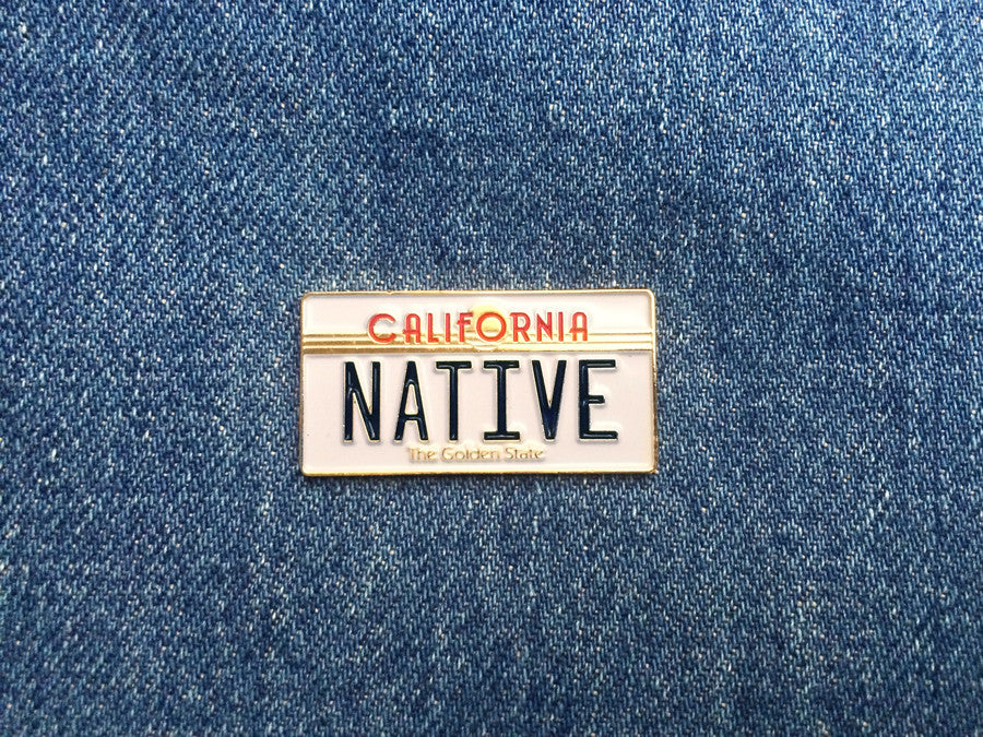 1980s_california_native_license_plate_pin_front