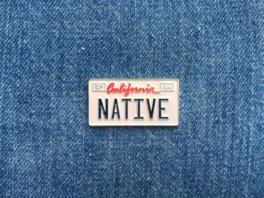 current_california_native_license_plate_pin_front