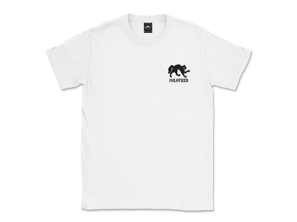 Image of white Cat tee