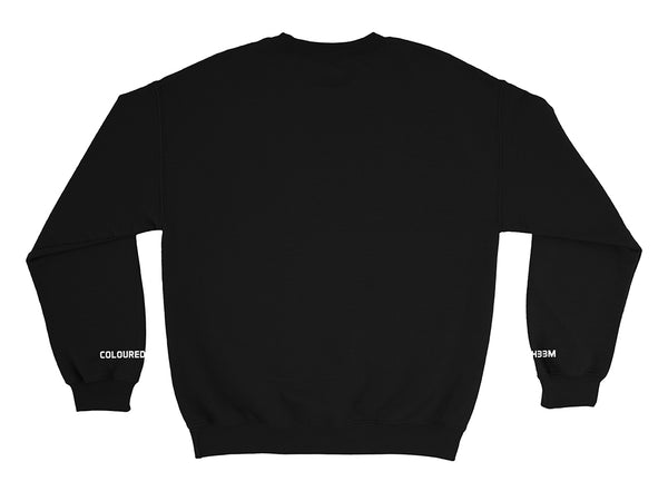 Image of Don't Ask Me For Shit crew neck sweater back