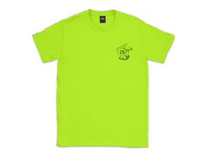 Image of neon Mushrooms tee