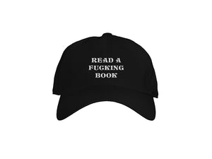 Read a Fucking Book Dad Hat