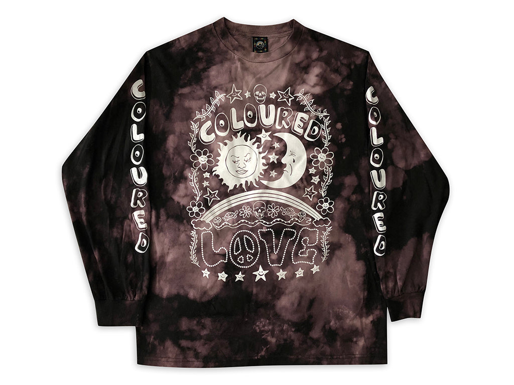 Tie Dye Graphic Long Sleeves (Love)