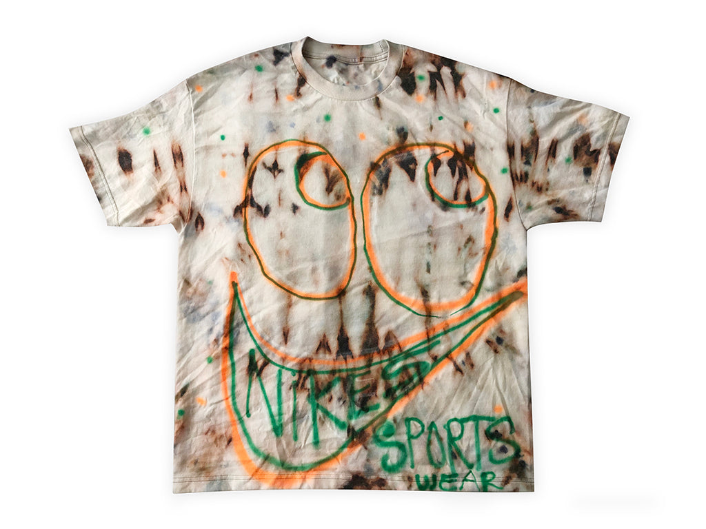 Tie Dyed Airbrush Tee Size XL