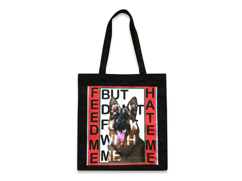 Image of the front of the Doggo tote