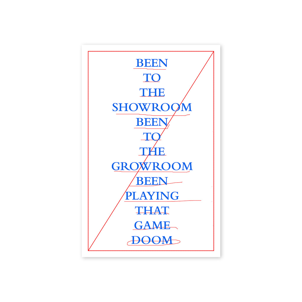 """The Bedroom To The Throneroom"" Print"