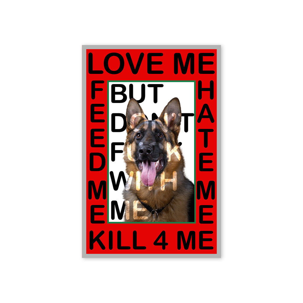 """Doggo Don't Fuck"" Print"