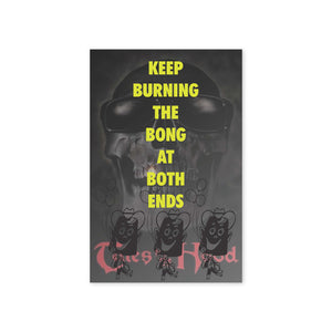 """Burning At Both Ends"" Print"