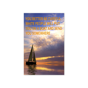 """Sailboat Me To Your Dreams"" Print"