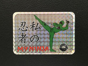 my_ninja_hologram_sticker