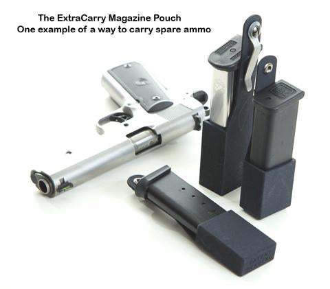 Keith Tyler - 1911 Mag Pouch Review - ExtraCarry Mag Pouch
