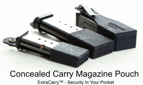 1911 Mag Holder | 1911 Mag Pouch | ExtraCarry Mag Pouch Concealed Carry