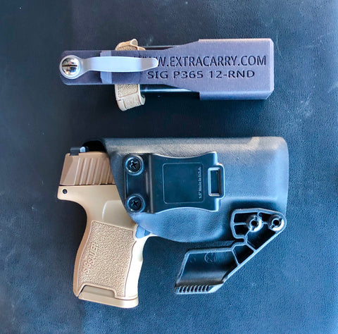 ExtraCarry Every Day Carry (EDC) Photo with a Sig P365