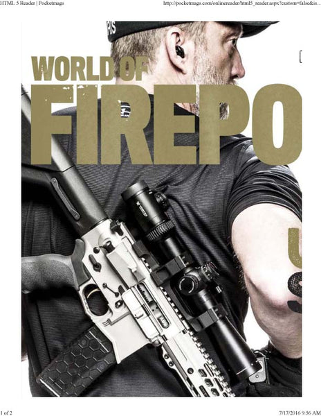FirePower Magazine Cover - ExtraCarry Mag Pouch - Chris Sajnog for his Glock 36