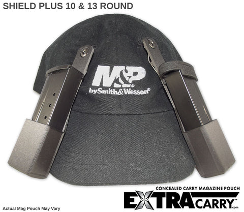 Shield Plus Mag Pouch 10 round and Shield Plus Mag Pouch 13 round