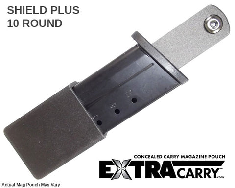 Shield Plus 10 round mag carrier