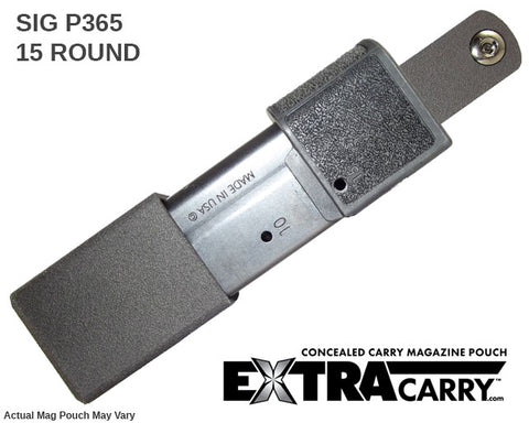 Sig P365 15-round ExtraCarry Mag Pouch