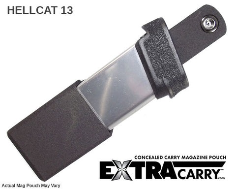 Magazine Pouches for Springfield Hellcat 13 round - 9mm concealled carry