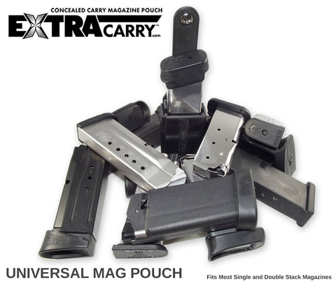 Glock Mag fit well in our Universal Mag Carrier