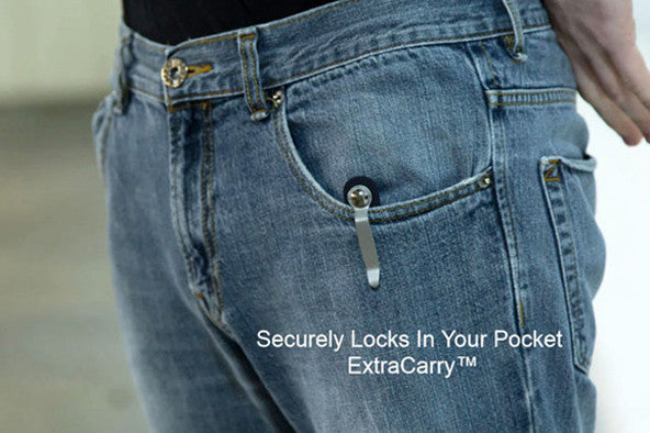 EXTRACARRY Mag Pouch - securely locks in your pocket