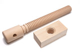 Lake Erie Toolworks - Basic Leg Vise Kit with hard maple screw and nut