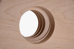 Lake Erie Toolworks - Extended Nut hole detail