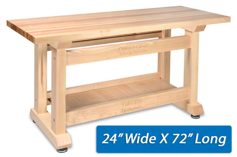 "ForeverBench 24"" x 72"""