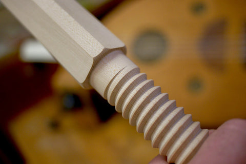 La Forge Royale Miter Jack Hard Maple Screw and Nut Pre-Order