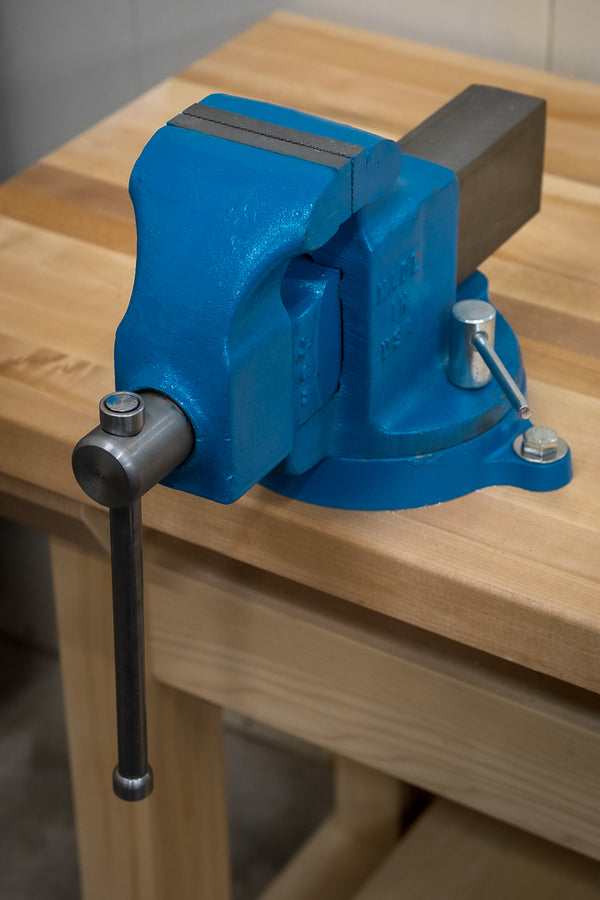 Morgan Machinist Vise with Swivel Base