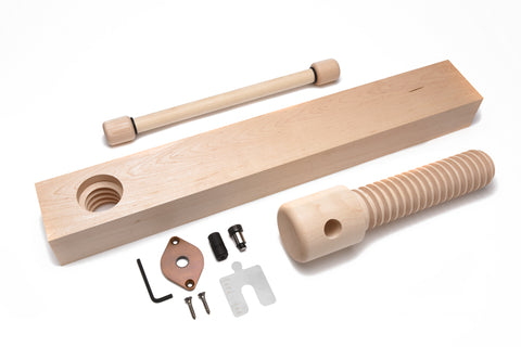 Lake Erie Toolworks - Standard Shoulder Vise Kit with hard maple screw, nut and brass connector