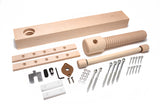 Lake Erie Toolworks - Wood Wagon Vise Premium Kit with Extended Nut option