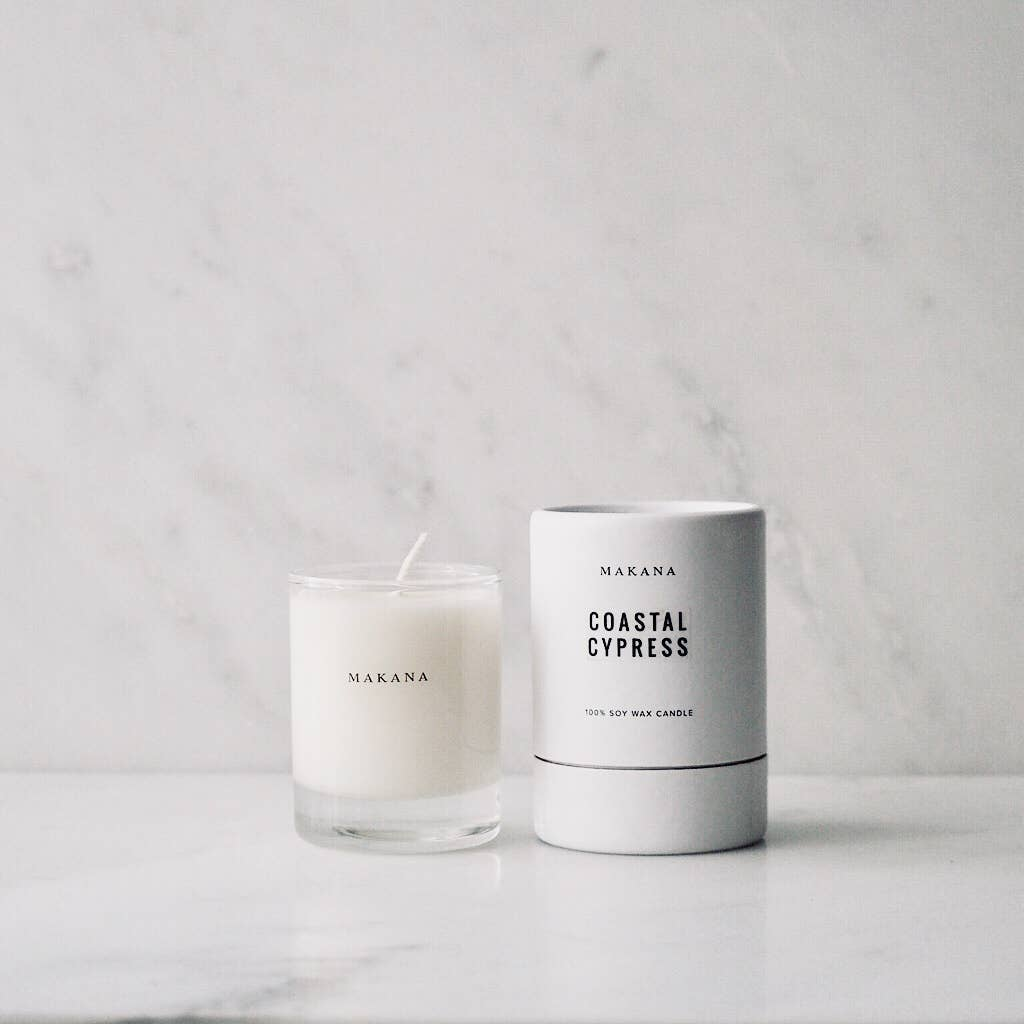 makana candles - coastal cypress