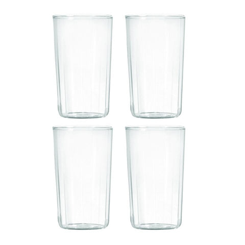 Highball Set of 4 Borosilicate Glass