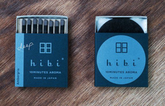 hibi incense matches