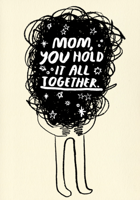 hold it all together card