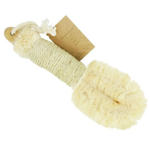 baudelaire sisal body brush